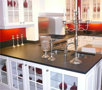 plan de travail de cuisine en granit silestone dekton quartz ou c ramique le gal marbre et. Black Bedroom Furniture Sets. Home Design Ideas